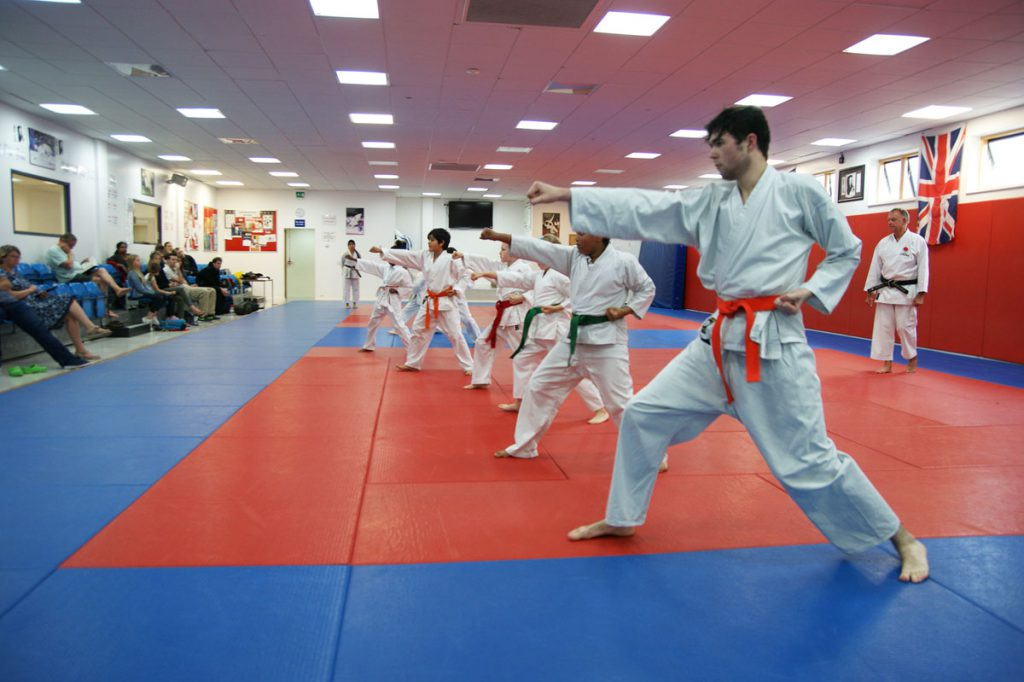 South London Shotokan Karate Club Ernest Bevin Sports College Tooting SW17