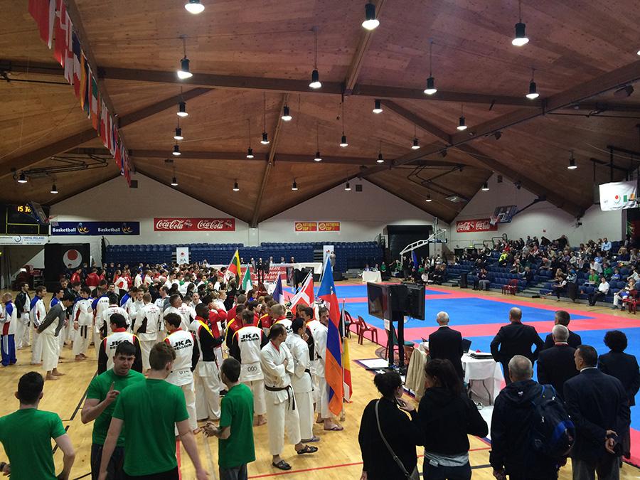 JKA EUROPEAN CHAMPIONSHIPS DUBLIN