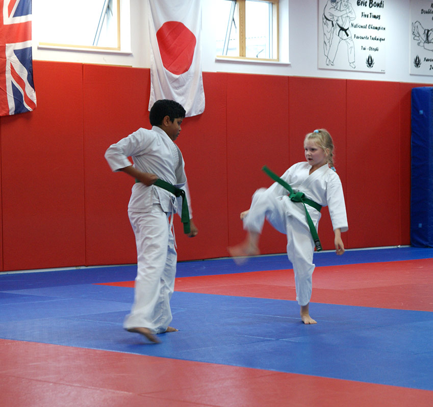 Students Training at South London Karate Club