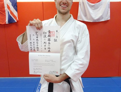 Black Belt for David Atmore