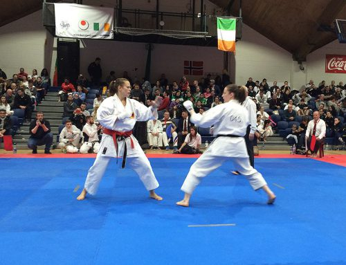England Win 2 Silver Medals at the JKA European Championships in Dublin