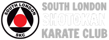 South London Shotokan Karate Club (JKA) Est. 25 Years Logo