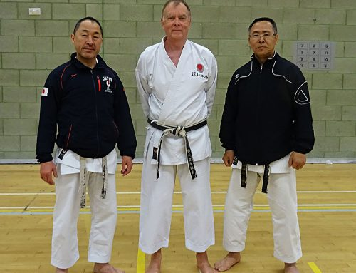 JKA England Spring Course in Crawley
