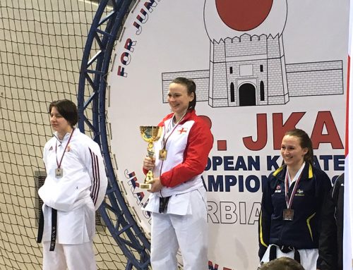 Roisin Akimoto Wins Double Gold in Serbia