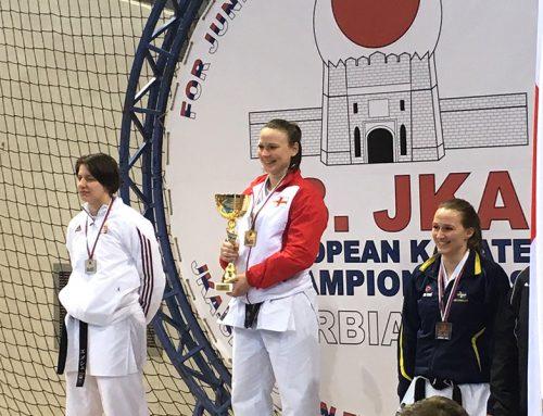 Roisin Akimoto Wins Double Gold in Serbia