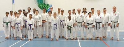 July-2018-Sensei-Martin-at-the-East-London-Club-for-their-summer-grading-and-training-session